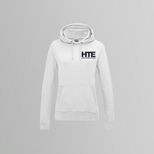 HTE Ladies Hoodie  (White)