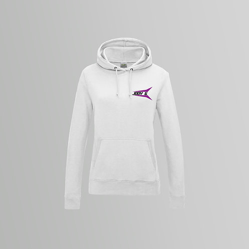 Jody 6 Ladies Hoodie (Black/White)