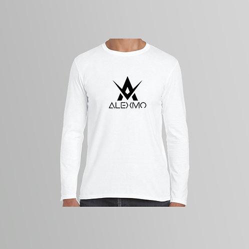 AlexMo Long Sleeve T-Shirt (Black/White)