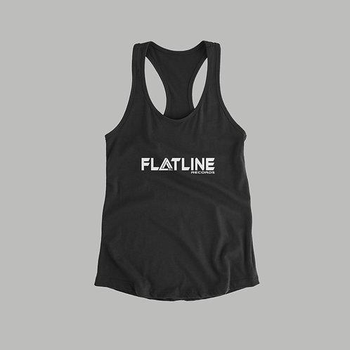 Flatline Recordings Ladies Vest  (Various Colours)