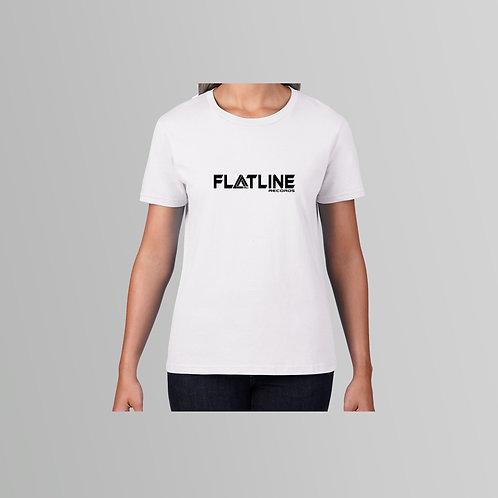 Flatline Recordings Ladies T-Shirt (Various Colours)
