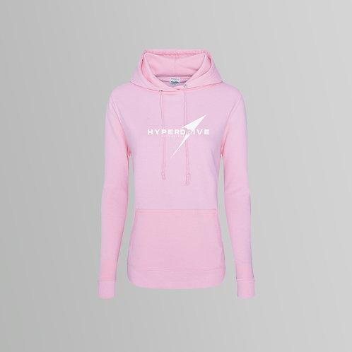Hyperdrive Ladies Hoodie (Pink)