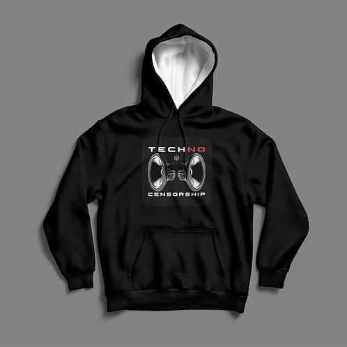 Lab4 Techno Censorship Hoodie (Black/White)