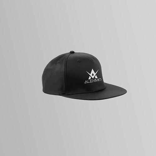 AlexMo Snapback Cap (Black/White)