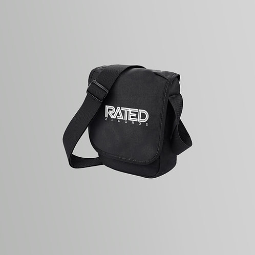 Rated Records Reporter Bag (Black)