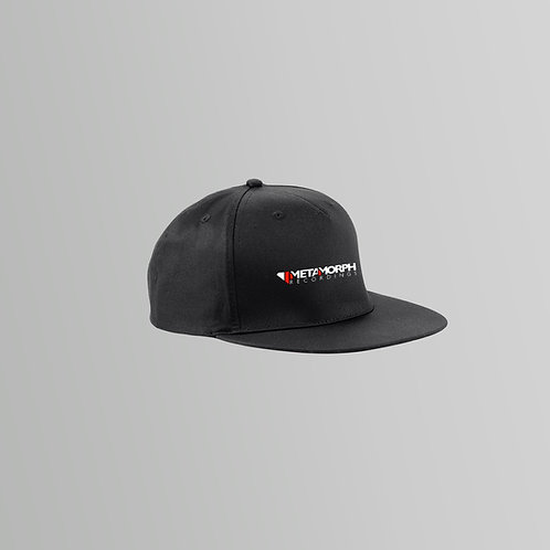 Metamorph Snapback Cap (Black/White)