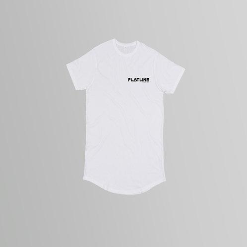 Flatline Recordings Long Line T-Shirt (Various Colours)