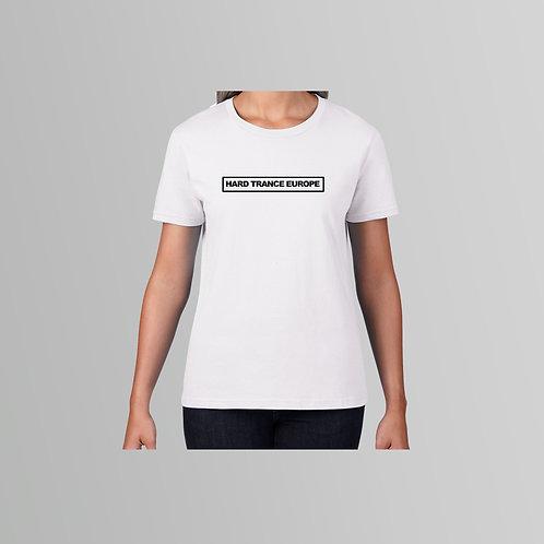 HTE Ladies TXT T-Shirt (White)
