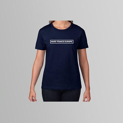HTE Ladies TXT T-Shirt (Navy)