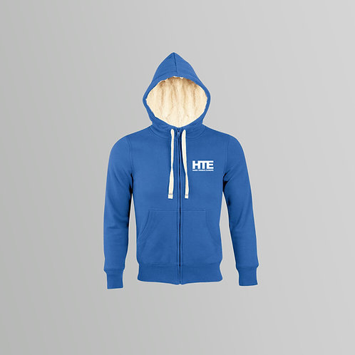 HTE Unisex Sherpa Lined Hoodie (Blue)