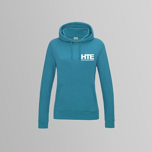 HTE Ladies Hoodie  (Teal)