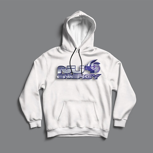 Nu Energy Collective Classic Hoodie (Black/White)