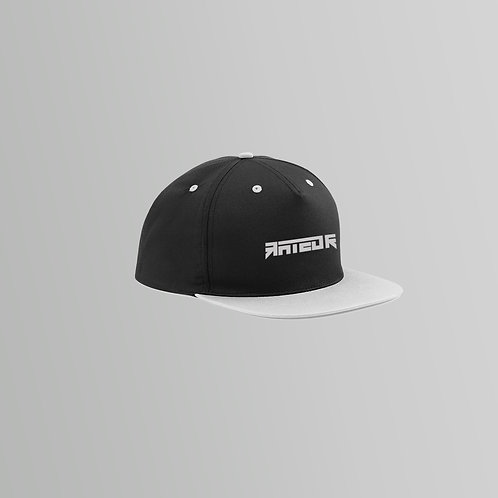 Rated R Snapback Cap (Grey and Pink)