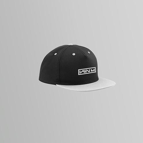 Iain M Snapback Cap (Grey/Pink)