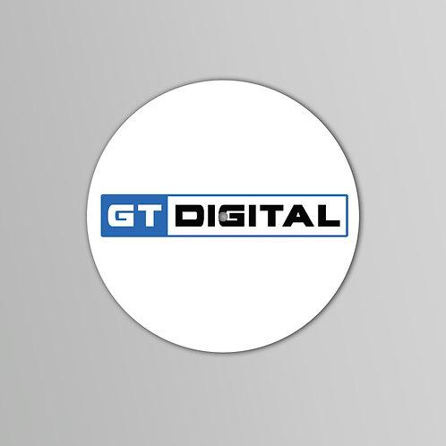 GT Digital Slipmats  (Black or White) (Pair)