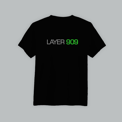 Layer 909 T-Shirt (Black)