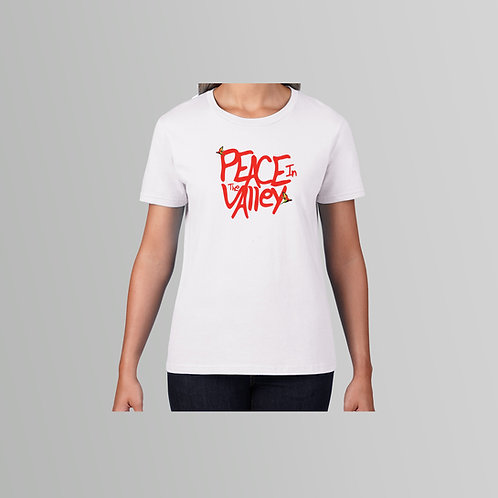 Supercala Peace Ladies T-Shirt