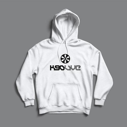 K90 Live Hoodie (White/Black)