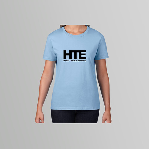 HTE Ladies T-Shirt (Baby Blue )