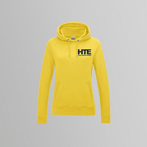 HTE Ladies Hoodie  (Yellow)