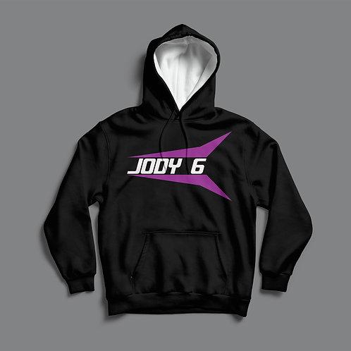 Jody 6 Hoodie (Black/ White)