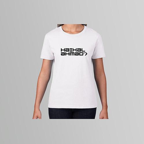 Haikal Ahmad Ladies T-Shirt (Various Colours)