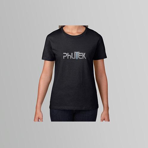 Phutek Ladies T-Shirt (Black)
