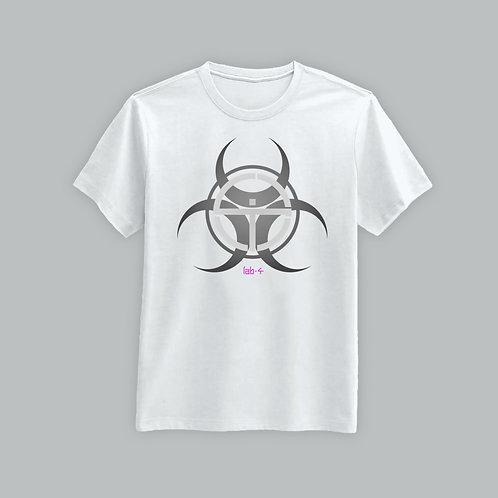 Lab4 2020 Neon Logo T-Shirt (White)