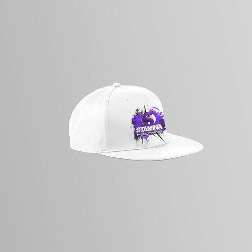 Stamina Snapback Cap (Black/White)