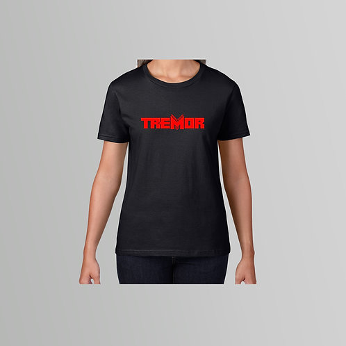 Tremor Ladies T-Shirt (Various Colours)