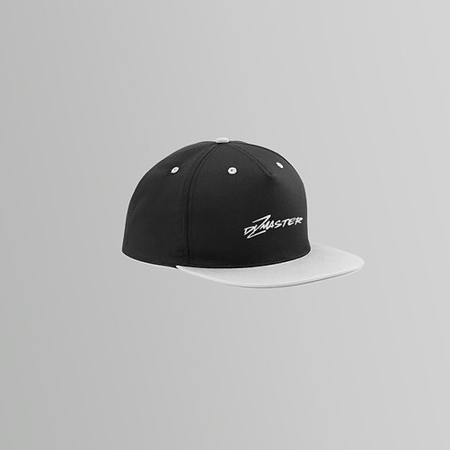Dizmaster Snapback Cap (Grey / Pink)