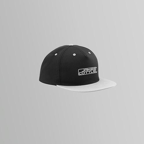 James Cottle Snapback Cap (Grey/Pink)