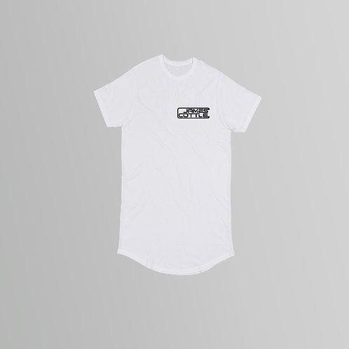 James Cottle Long Line T-Shirt (Black/White)