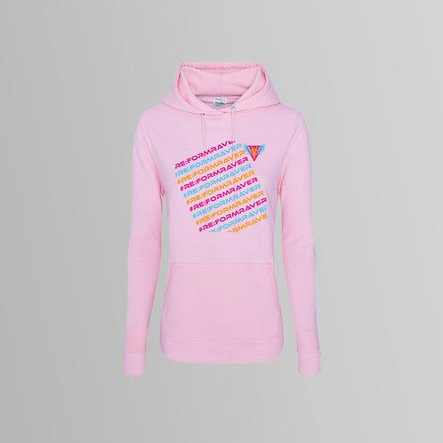 Re:Form Repeat Ladies Hoodie (Various Colours)