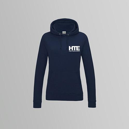 HTE Ladies Hoodie  (Navy)