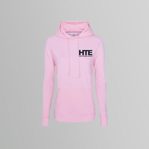 HTE Ladies Hoodie  (Pink)