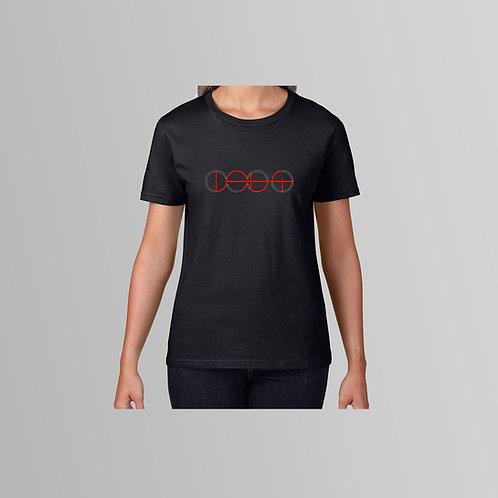Lab4 Olympic Ladies T-Shirt (Black/White)