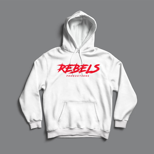 Rebels Productions Hoodie (Black / White)