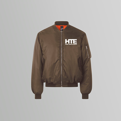 HTE Authentic Bomber Jacket (Brown)