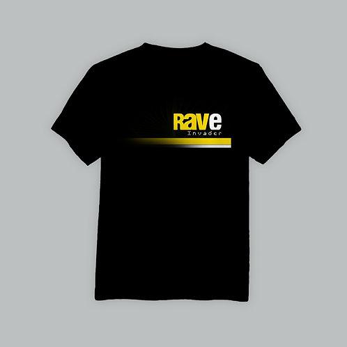 Supercala Rave Invader T-Shirt (Black)