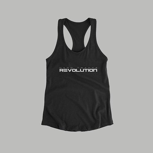 Hard Trance Revolution Ladies Vest (Black/White)