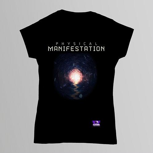 Stamina Physical Manifestation Ladies T-Shirt (Black)