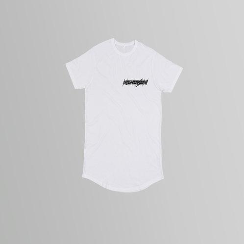 Nicholson Long Line T-Shirt (Black/White)