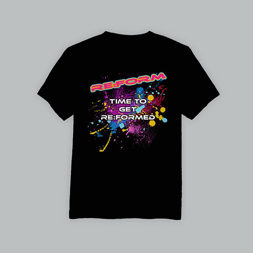 Re:Form Time T-Shirt (Various Colours)