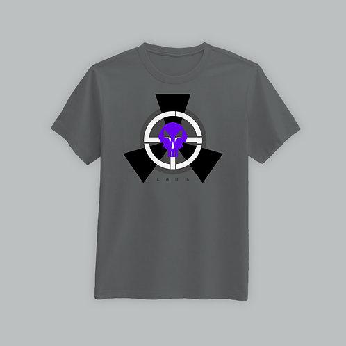 Lab4 Retro-Purple Limited T Shirt (Grey)