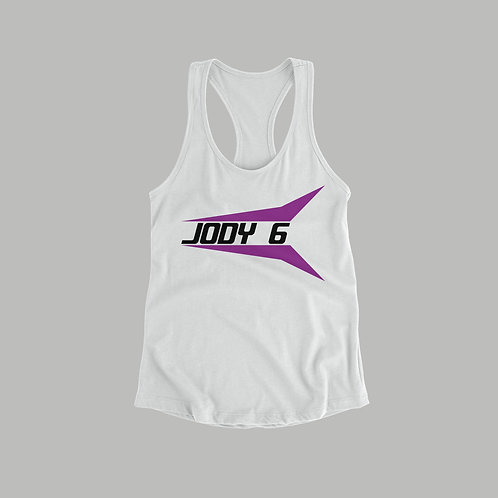 Jody 6 Ladies Vest (Black/White)