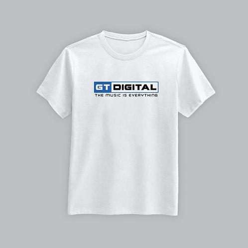 GT Digital Music Is Everything T-Shirt (Black/White)