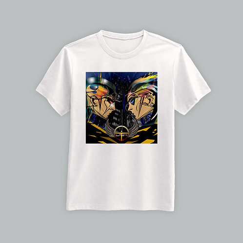 Lab4 Manga T-Shirt (Black/White)