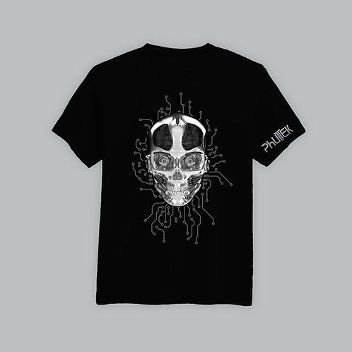 Phutek Skull  T-Shirt Sleeve Logo (Various Colours)