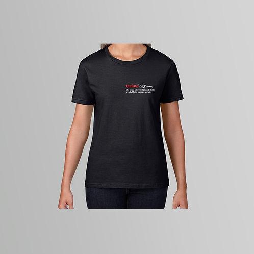 Definitions Ltd Edition Technology Ladies T-Shirt